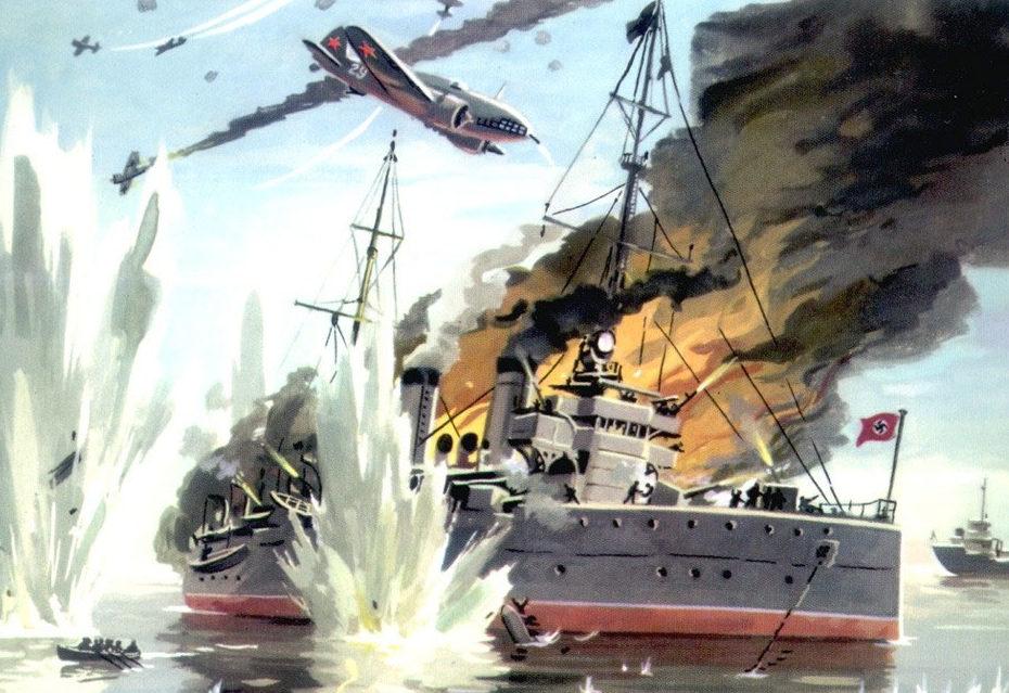Великая страна СССР,Гибель крейсера «Ниобе» - Родионов Игорь