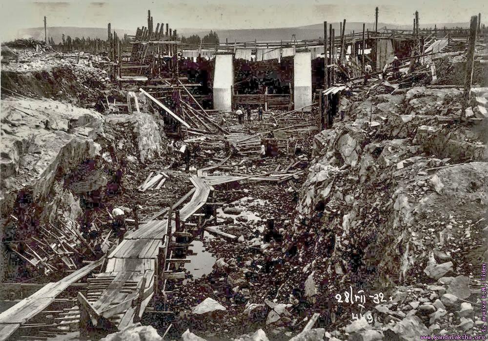Великая страна СССР,Нивская ГЭС-2