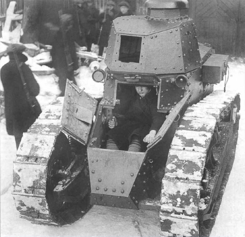 Великая страна СССР, танк Рено русский - 1920-21